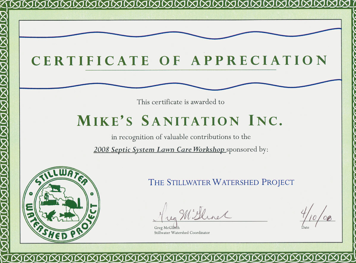 Dont Put Off Septic Tank Maintenance Mikes Sanitation New
